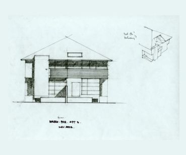 Chitos' elevation study, option 3