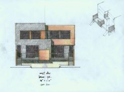 Chito's elevation study, rear